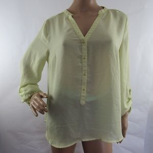 LC Lauren Conrad Shirt Blouse